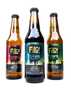 filo, chilean craft beer on Behance