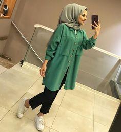 Hijab Casual, Modest Fashion Hijab, Modern Hijab Fashion, Arab Fashion, Islamic Fashion, Hijab Chic, Muslim Fashion, Modest Wear, Modest Outfits