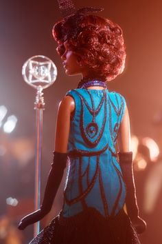 Claudette Gordon Barbie from the 2015 Harlem Theater Collection