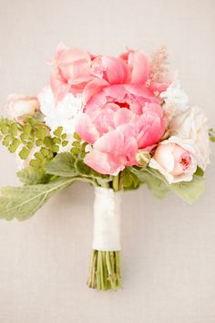 #peony, #bouquet  Photography: Ashlee Raubach - ashleeraubach.com Wedding Planning and Design: Nicole Davis Design - meohmymama.blogspot.com Floral Design: Twig and Twine - twigandtwinedesign.com  Read More: http://stylemepretty.com/2013/04/29/newport-beach-wedding-from-ashlee-raubach/