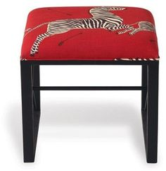 The Well Appointed House Scalamandre Maison Medallion Black Single Bench