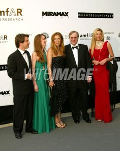 Monica Seles and Guests during...