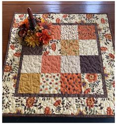 White Placemats, Table Runner And Placemats, Quilted Table Runners, Fall Table Runner, Quilted Table Runner Patterns, Fall Placemats, Thanksgiving Table Runner, Table Topper Patterns, Quilted Table Toppers