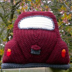 Ravelry: Crocheted Beetle Cushion Cover pattern by Tracy Harrison (SnuginaDub)