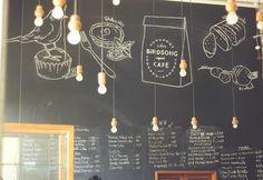 bird song cafe, quirky, cute, food, cafe, restaurant, mumbai, bombay, india, blog, chalkboard, idea, diy