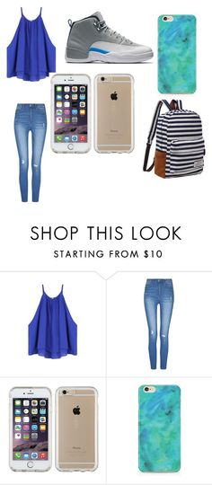 """""""Blue is Life"""" by kymanithompson ❤ liked on Polyvore featuring Speck"""