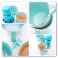 Pastel Coffee by JoyHey, via Flickr.
