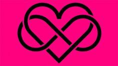 Das Herz mit dem Zeichen für Unendlichkeit ist das Symbol für Polyamorie.