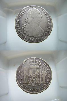 8 reales, 1805 (ceca Santiago de Chile)