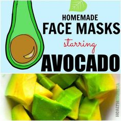 If you knew the benefits of avocado for beauty, you'd rush out to get some on your face. Learn about avocado's amazing benefits & try out some avocado face mask recipes too! #AvocadoSkincare #AvocadoMask