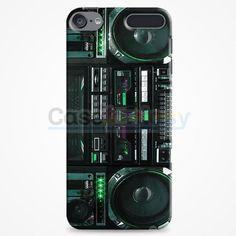 Boombox Ghetto Blaster Funny iPod Touch 6 Case | casefantasy