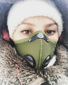 Taka sytuacja...  #cracow #polishgirl #student #day #afterday #smog #air #pollution #mask #respro #winter #really #cold #selfie #super #style #like #a #model  ❄️❄️❄️