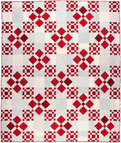 Scrappy Nines quilt by Pat Wys of Silver Thimble Quilt Company - September 2014 interview by Pat Sloan