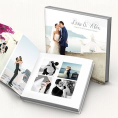 Wedding Album PSD Template. Customizable modern wedding photo book ideal for photographers or personal use. Photoshop files 12x12, 24 pages. by GraphicCorner on Etsy