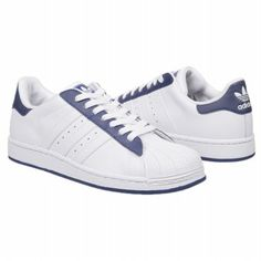 adidas Superstar 2 Grd Shoes (Wht/Wht/Navy) - Kids' Shoes - 6.5 M
