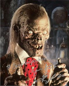 None other than The Crypt Keeper! I miss this guy!