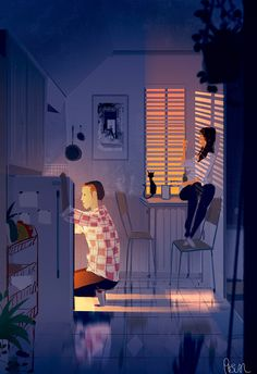 Pascal Campion, Snack time. #pascalcampion