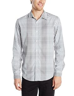 An extended sleeve button-down get dressed blouse that includes an extremely-comfortable 100 % liquid cotton material and double buttoned chest wallet, in trendy plaid.