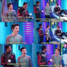 — why is kaz so me. I always make whale noises out of nowhere. lmao #labrats #labratsbionicisland #labratsvsmightymed #mightymed