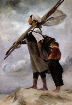Elisabeth Nourse - Fishergirl of Picardy 1889