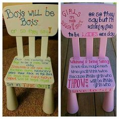 Good idea for a time out chair.I'm not a big fan of time out. I hope I never need one! Kids And Parenting, Parenting Hacks, Parenting Goals, Time Out Chair, Kid Chair, Raising Boys, Sugar And Spice, Future Baby, Future House