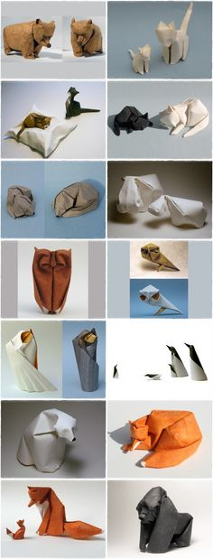 Dinh Truong Giang, paper folding wonderful! Plus animals,