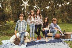 Colección Kids Diciembre 2015 Jeans, December, Clothing, Denim, Denim Pants, Denim Jeans