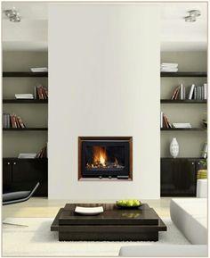 New Wood Shelves Fireplace Built Ins Ideas Family Room Fireplace, Fireplace Built Ins, Home Fireplace, Modern Fireplace, Fireplace Surrounds, New Living Room, Living Room Decor, Contemporary Fireplace Designs, Muebles Living