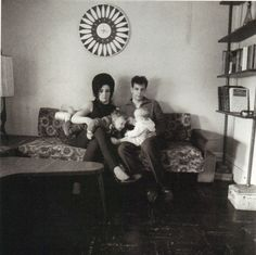 Diane Arbus, A young Brooklyn family at home, N.Y.C., 1966