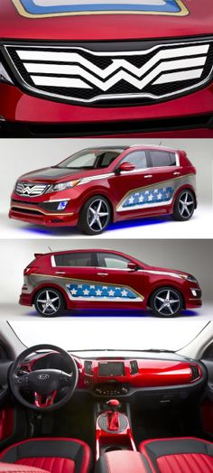 Wonder Woman Kia - maybe not too quick but I love the paint job....lol