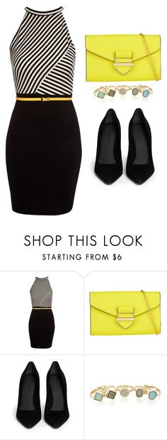 """""""Outfit Idea by Polyvore Remix"""" by polyvore-remix ❤ liked on Polyvore featuring Jane Norman, ALDO, Alexander Wang and Oasis"""