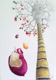 http://lateliermariajosehdez.blogspot.com.es/  Exposición Árboles en las manos y ramas en el pelo. María josé Hdez. Jou Chaguaramo