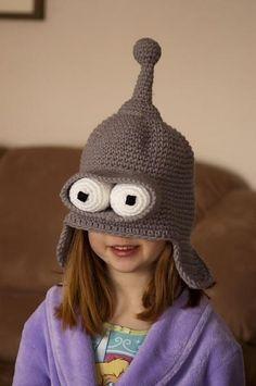 OMG. BENDER HAT!