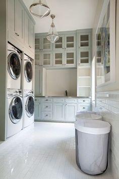 Double laundry large space launrdy room