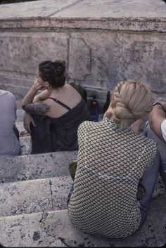 Shirt at Spanish Steps, Rome.