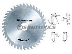 T.C.T Saw Blade #CircularSawBlades #HandTools