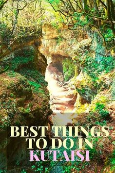 Kutaisi is full of tourist attractions that will make fall in love with it. From caves to canyons, passing through incredible monasteries these are the best things to do in Kutaisi, Georgia!**************** What to visit in Georgia | Top attractions of Georgia | What to do in Kutaisi | Most beautiful places in Georgia