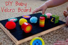 diy-velcro-baby-board                                                                                                                                                                                 More