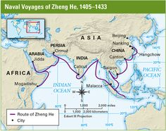 Foreign Contacts Under the Ming Dynasty - Flores- World History 7