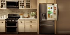 Discover the undeniably eye-catching look of LG Black Stainless Steel appliances and experience style and color that changes everything. Learn more. #LGLimitlessDesign & #Contest