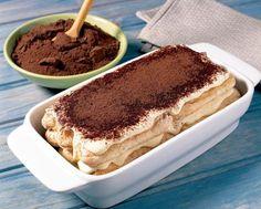 Tiramisu s mascarpone - Receptik. Banana Cheesecake, Cheesecake Desserts, Fun Desserts, Dessert Recipes, Best Italian Recipes, Italian Desserts, My Recipes, Cooking Recipes, Tiramisu