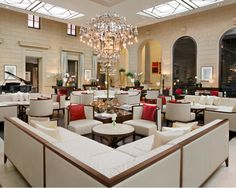 Palais Hansen Kempinski -  Vienna.  Art Deco style with perfect service.