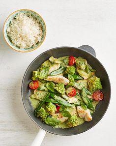 Hähnchen-Gemüse-Pfanne Rezept - [ESSEN UND TRINKEN]