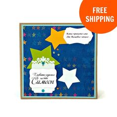 This gorgeous Baby Boy Scrapbook Album measures approx. 6 x 6. It is interactive and has numerous pockets, flaps and individual segments. The Baby Boy Scrapbook Album makes a great gift for different occasions such as new baby, christening, baptism, birthday, etc. Inside the scrapbook there are 12 decorated pages with flaps and pockets for pictures and notes. You will have even more room for photos with the extra 6 big pockets with 6 pull out cards! The baby memory book has 2 usable…