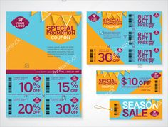 Set Of Season Sale Banner Templates Vector Illustrations For