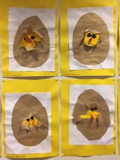 Pääsiäisaskartelu tipu muna pienille sopiva helppo. Isommillekin Art For Kids, Crafts For Kids, Arts And Crafts, Easter Activities, Spring Crafts, Easter Baskets, In Kindergarten, Easter Crafts, Spring Time