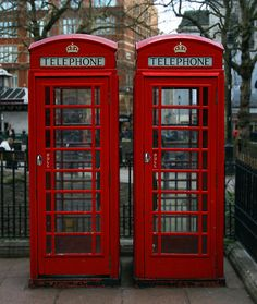 London Red Phone Box found in Leicester Square central London.