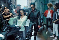 Penelope Cruz Ben Stiller Vogue Cover February 2016 Zoolander 2 Agnes Gund (Annie Leibovitz)