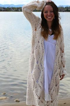 The Pineapple Robe: #crochet #pineapple  pattern for purchase