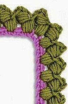 6 gráficos para tejer puntillas a crochet o ganchillo ~ cositasconmesh